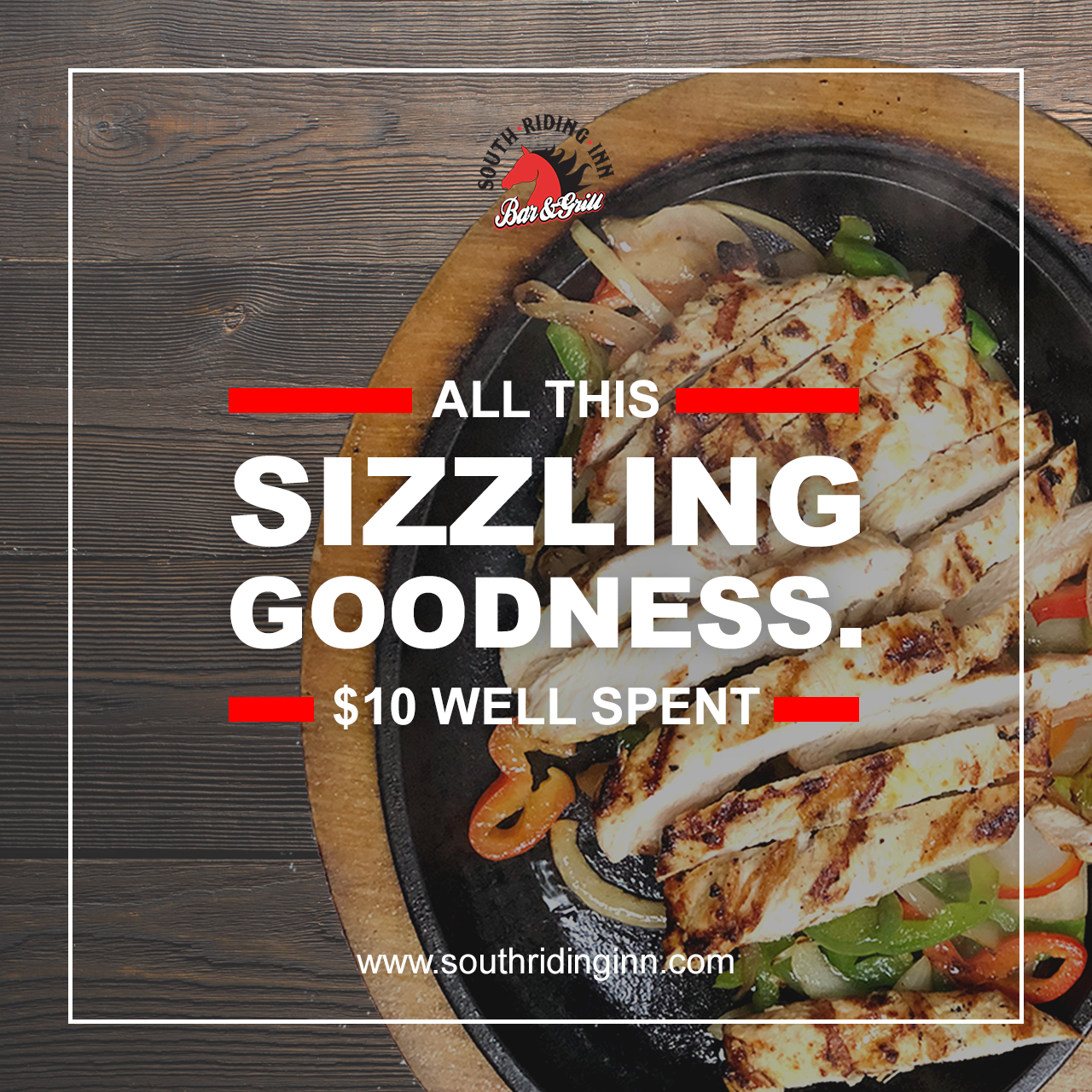 South Riding Inn Fajita Ad