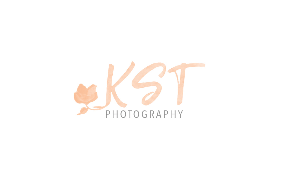 KST photography logo design