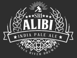 Alibi IPA white logo
