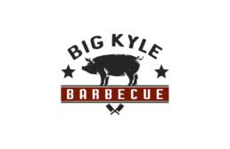 big Kyle bbq logo design