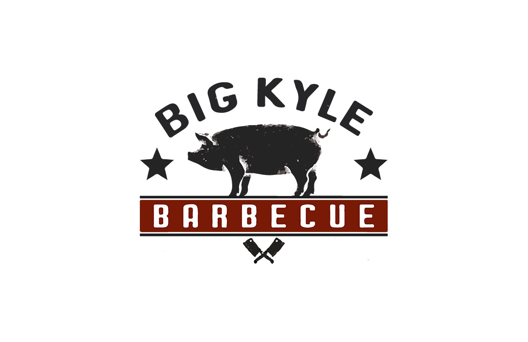 big Kyle bbq logo design
