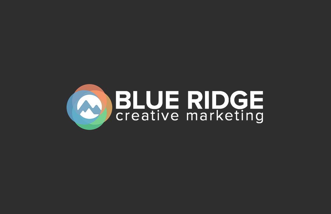 blue ridge logo design
