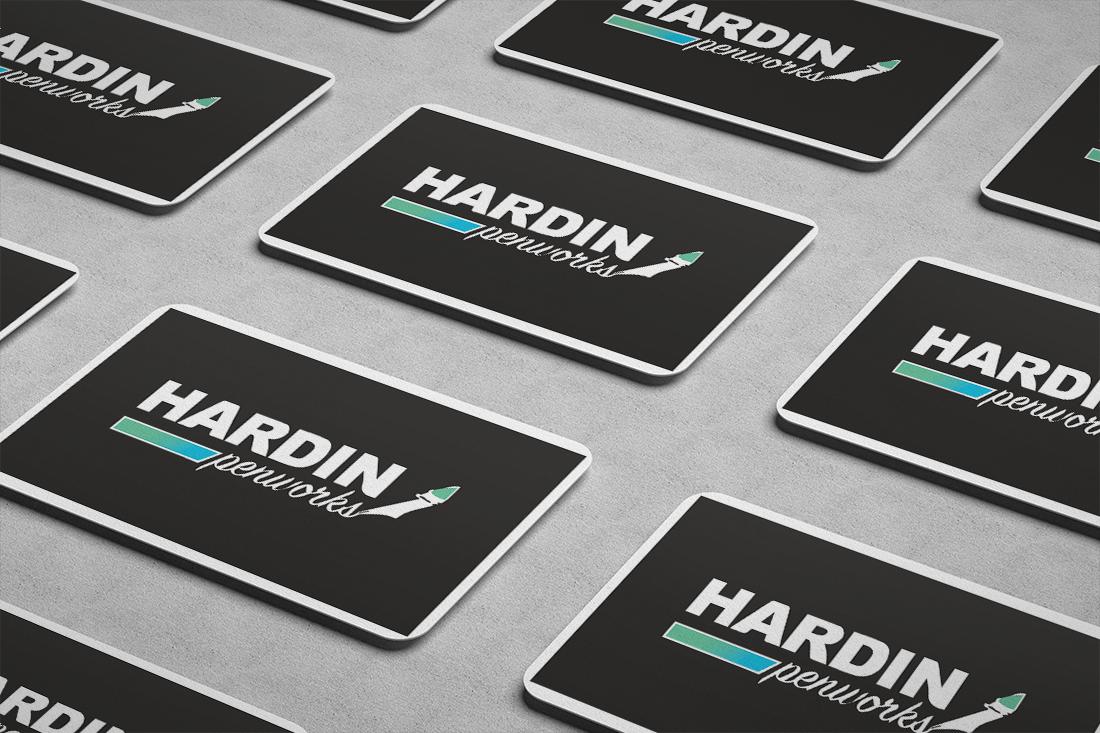 Business Card Hardin Penworks