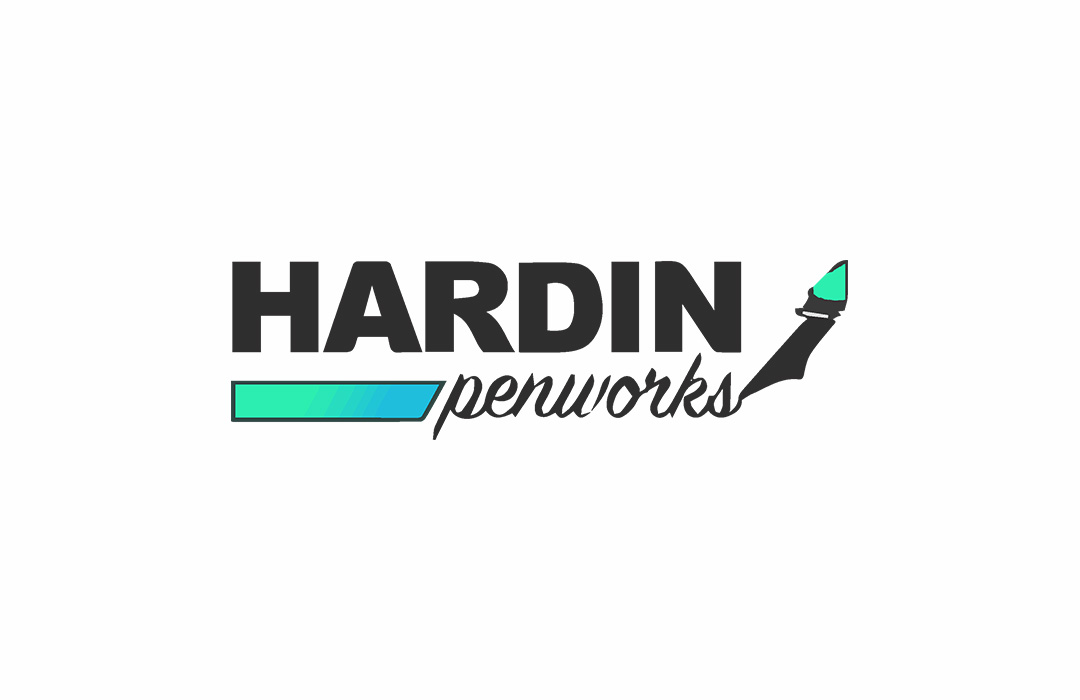 hardin Penworks logo design