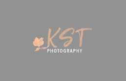 KST photography logo design