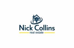 Nick Collins logo design
