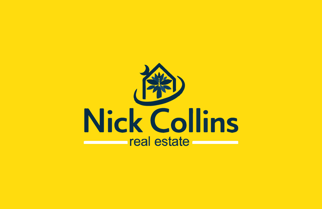 Nick Collins logo design