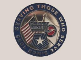 Military Benefit Association NGAUS Pin Design