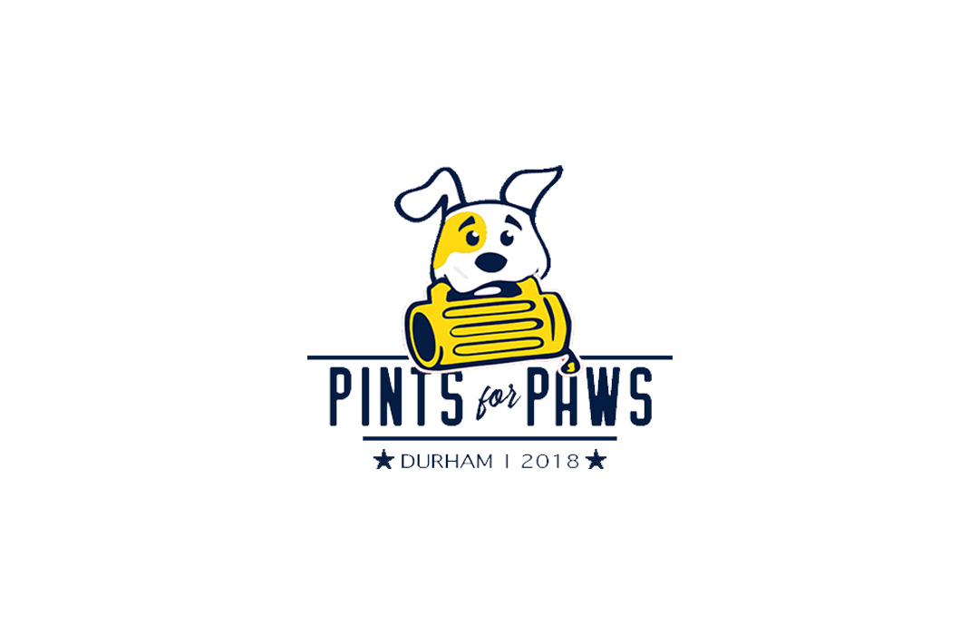 pins for paws logo design