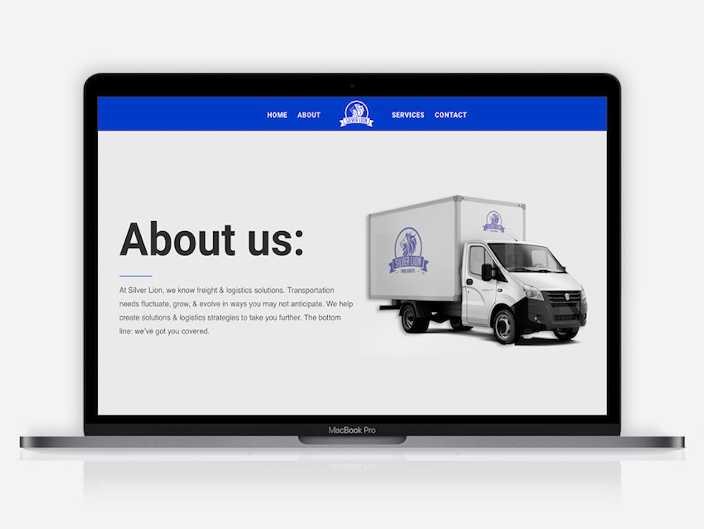 silver lion web design & development