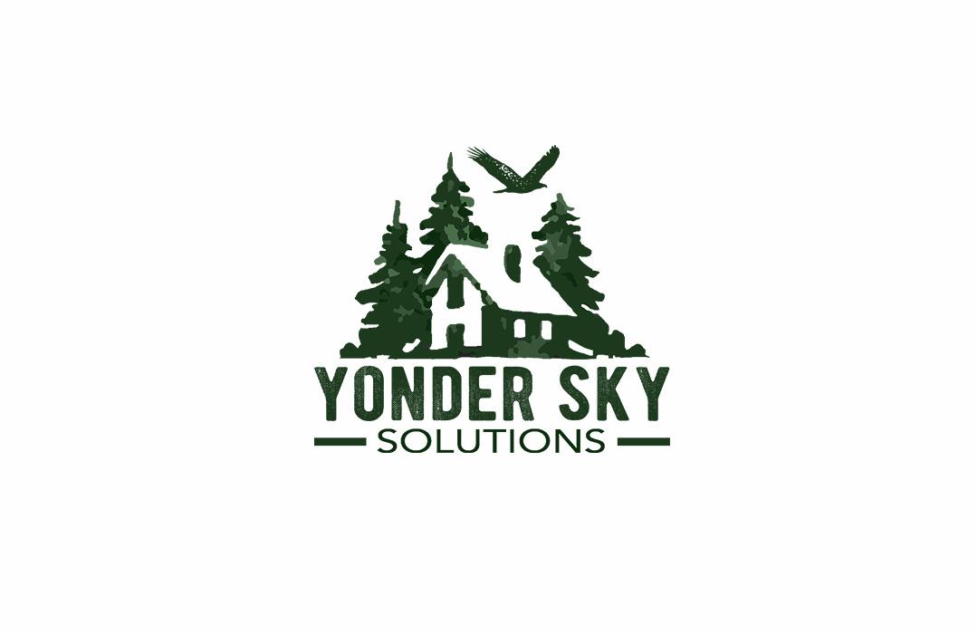 yonder sky logo design
