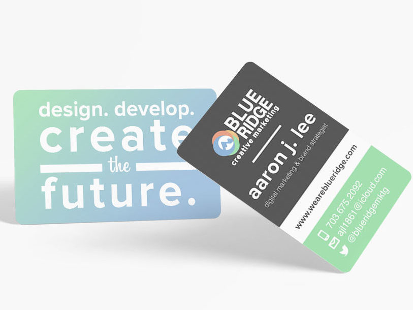 Blue Ridge Creative Marketing branding