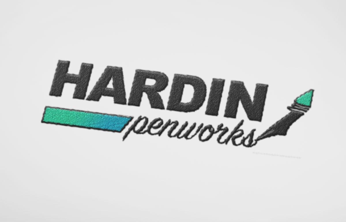 Hardin Penworks Embroidered Logo