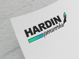 Hardin Penworks Logo paper