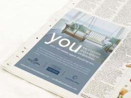 newspaper print advertising nick collins
