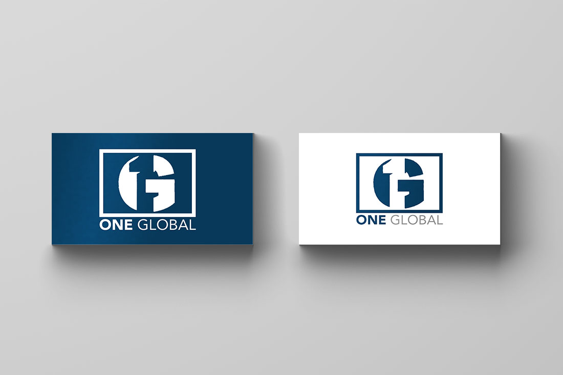 One Global Logo Cards