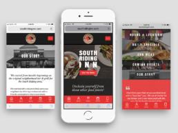 SRI mobile website redesign