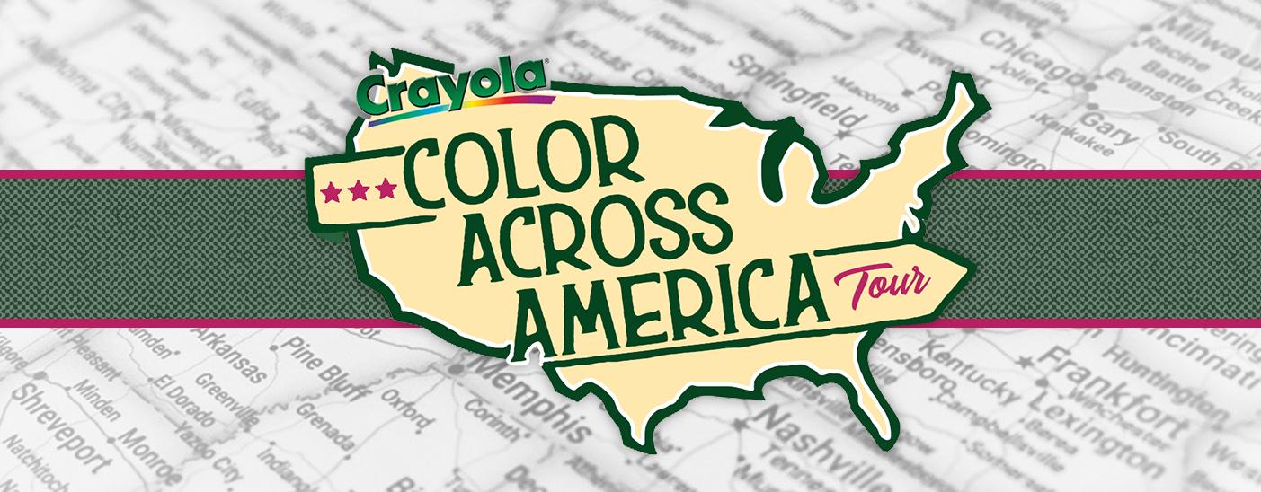 Color Across America brand experience