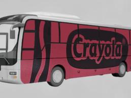 crayola brand experience bus