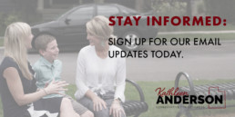 twitter Kathleen Anderson newsletter sign up