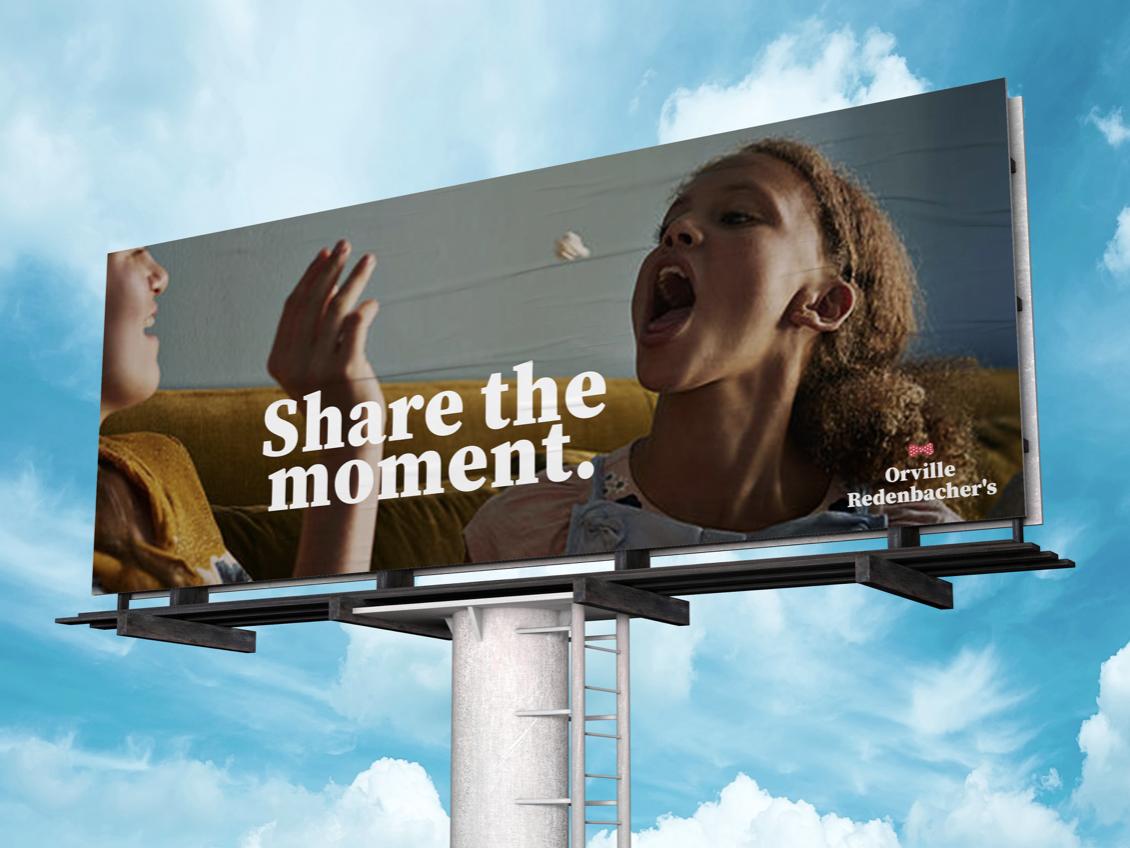 OOH advertising Orville redenbackher's