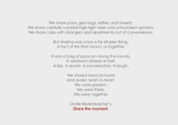 Orville Redenbacher's manifesto