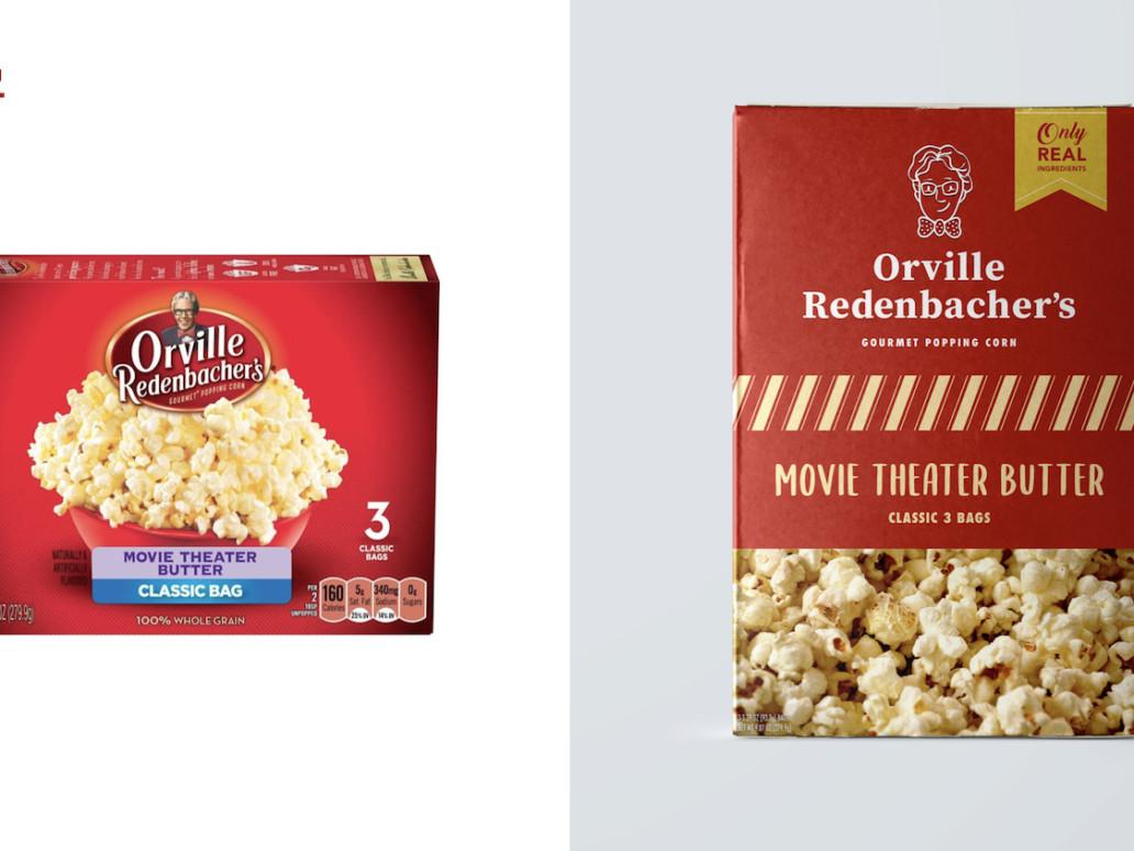 popcorn repackaging