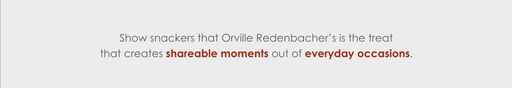 Orville Redenbacher's brand strategy